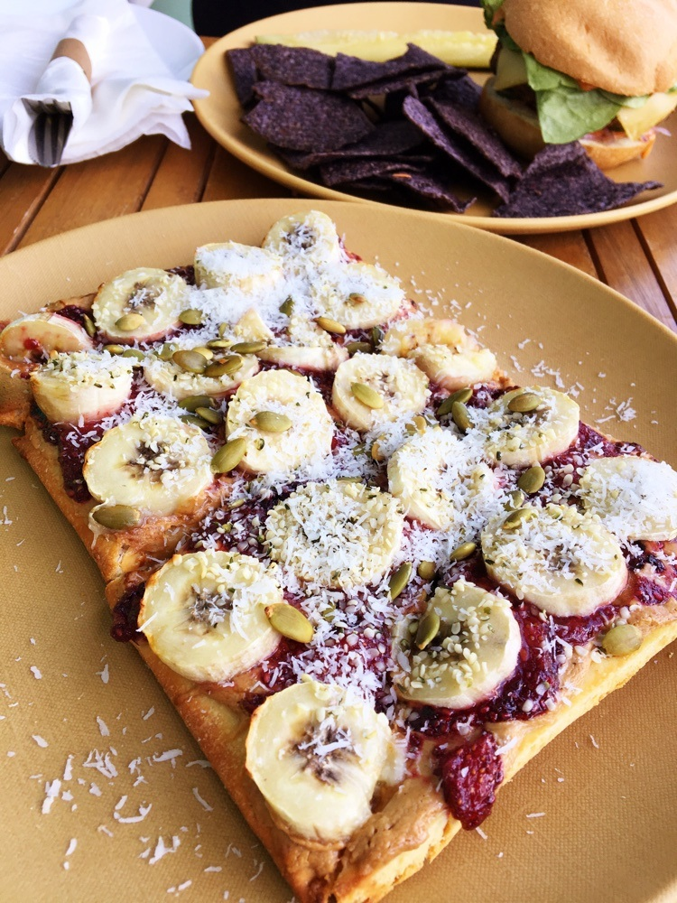 fruits and roots daily special flat bread