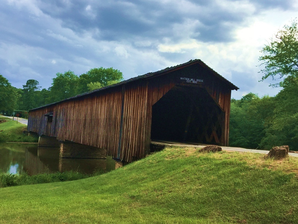 Loads to do at Watson Mill Bridge State Park in Georgia
