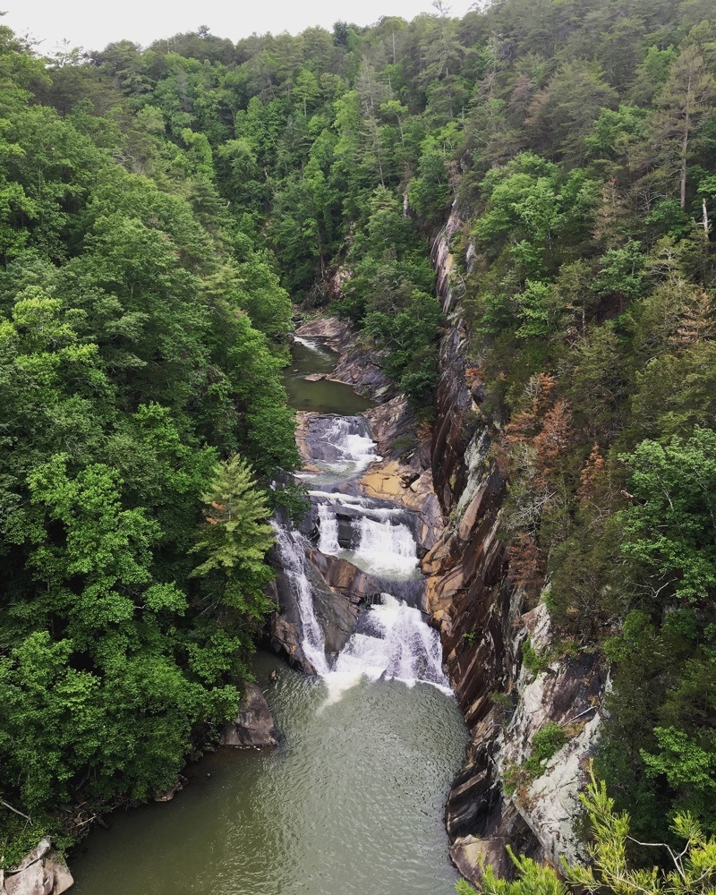 tallulah gorge.